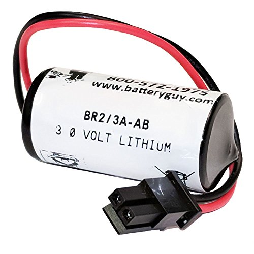 BatteryGuy BR2/3A-AB 3V 1200mah PLC Battery for sale  Delivered anywhere in USA