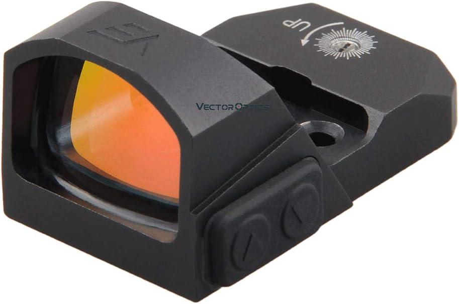 TAC Vector Optics Micro Red Dot Sight 3MOA Reflex Sight Mini with Picatinny Mount-Easily Hold to Zero (Frenzy 1x17x24 )