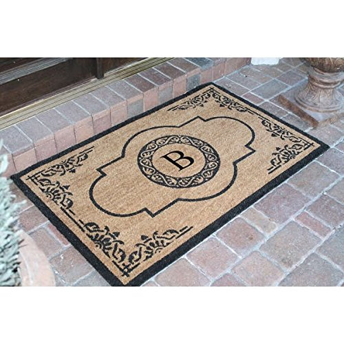 10. Wingate Monogrammed Entry Mat