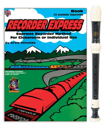 Harmony 3-Piece Recorder Pack with Recorder Express by Artie ()