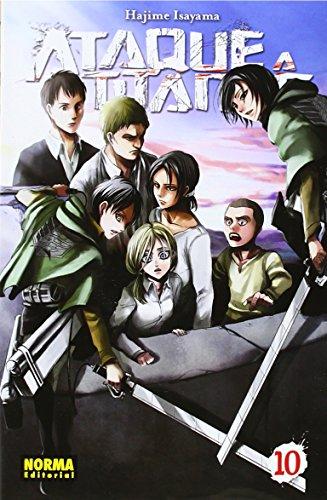 Descargar Libro Ataque A Los Titanes 10 Hajime Isayama