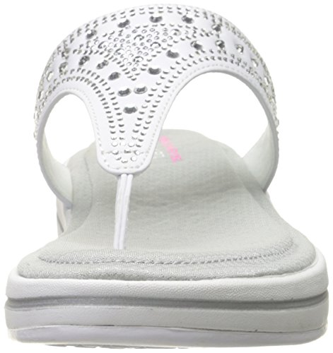 Upgrades Infradito Donna Bianco bianco Skechers Drizzled dECwdq