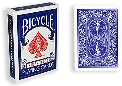 Bicycle Poker Magic Trick CHEEK TO CHEEK DECK