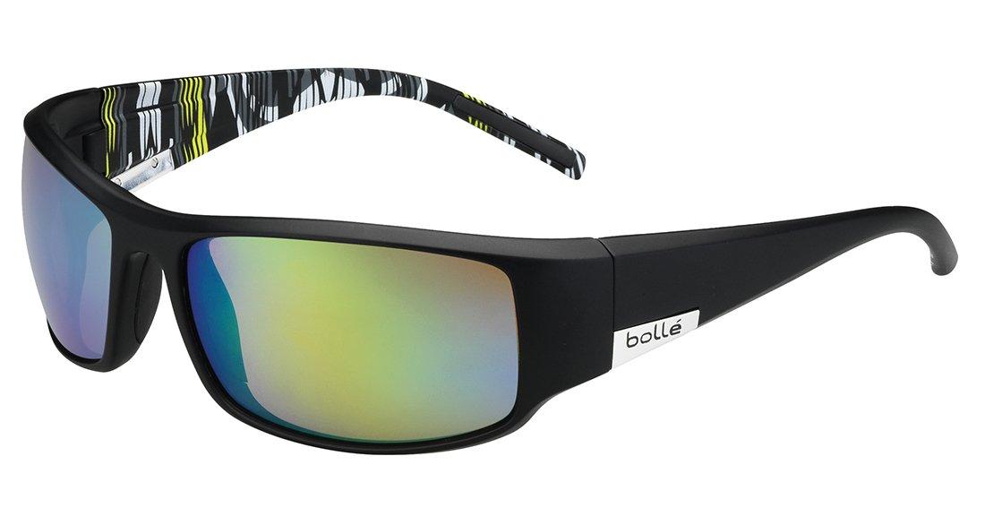 Bollé Sonnenbrille King - Calzado de ciclismo para hombre, color negro (mat black/lime zebra), talla L: Amazon.es: Deportes y aire libre
