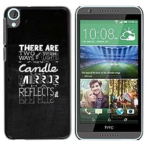 Stuss Case / Funda Carcasa protectora - Two Ways Of Spreading Light - HTC Desire 820