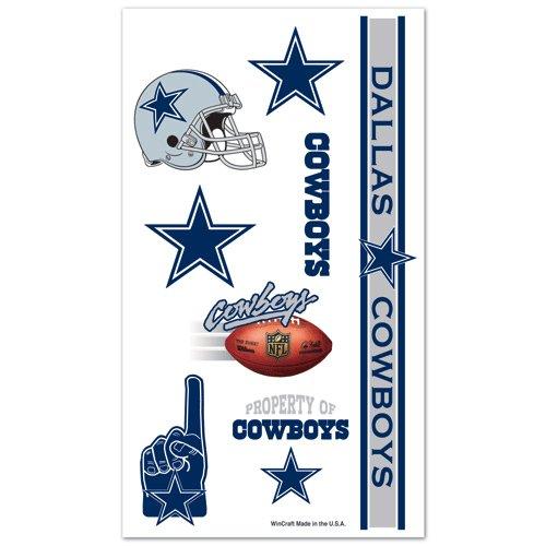[Dallas Cowboys Temporary Tattoos] (Football Temporary Tattoos)