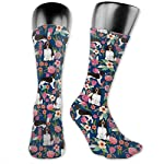 Gifts - Breathable Compression Socks Mid-Calf Crew Socks For Women Men 6