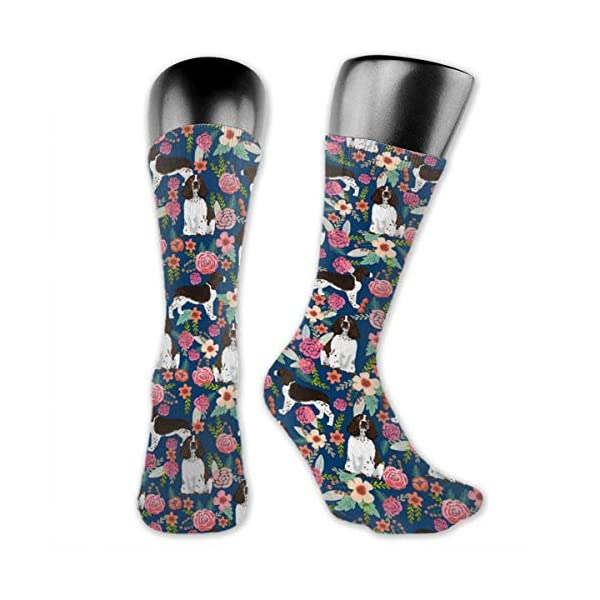 Gifts - Breathable Compression Socks Mid-Calf Crew Socks For Women Men 1