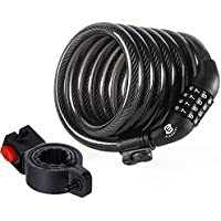 Etronic  Security Bike Lock M6 Self Coiling Resettable...