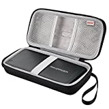 BOVKE EVA Shockproof Travel Carrying Storage Case Bag for RAVPower 26800mAh Huge Capacity / 20100mAh Quick Charge 2.0 Portable Charger External Battery Pack Power Bank, Black