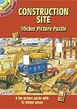 Construction Site Sticker Picture Puzzle (Dover Little Activity Books)