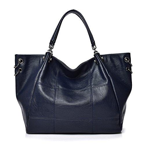 Amazon.com: NIGEDU Women Handbags female large handbags ...