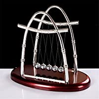 Ovovo Classic Newton's Cradle Balance Balls Physics Science Puzzle Desk Decor for Home& Office