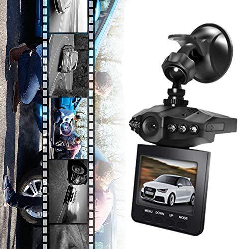 eBoTrade Dirct Dash Cam, Car Camera, 2.5 Wide Angle 6 LED Night Mode Dashboard Camera Recorder with Sony Exmor Video Sensor, Loop Recording (Black)