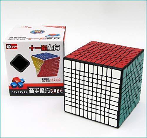 """素晴らしい品質 Shengshou B07H2B2DHN 11 11 x 11 x Shengshou 11 11スピードブラックマジックキューブプロツイストパズル 立体パズル スムーズ回転 ストレス解消 子供マジック 競技用 回しやすい 持ち運び可能 子供脳トレ 知育玩具 B07H2B2DHN, 元気ショップ """"北の国から"""":81b0633b --- a0267596.xsph.ru"""