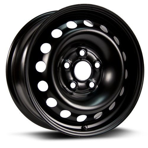 Aftermarket Steel Rim 16X7, 5X120, 64.1, +50, black finish X46501 RTX WHEELS
