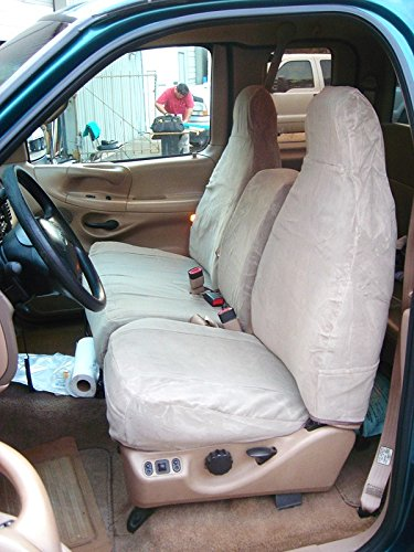 Pleasant Durafit Seat Covers F267 Gray Twill Ford F150 Super Cab Front High Back 40 60 Split Seat W Molded Headrests And Opening Console No Pull Tabs On Back Machost Co Dining Chair Design Ideas Machostcouk