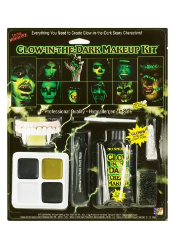 Glow in the Dark Makeup Kit Standard
