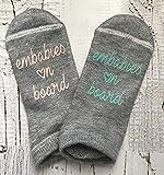 IVF Socks, Fertility Socks, Lucky Socks, ivf egg Retrieval, ivf egg transfer, motivational socks, ivf gift, embabies on board, pupo
