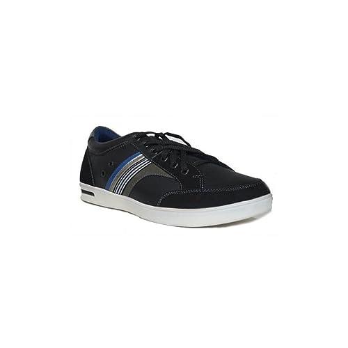 PEZATTI PEZATTI Colours Cordon 10C Zapatillas Lona para Hombre de Moda Negro: Amazon.es: Zapatos y complementos