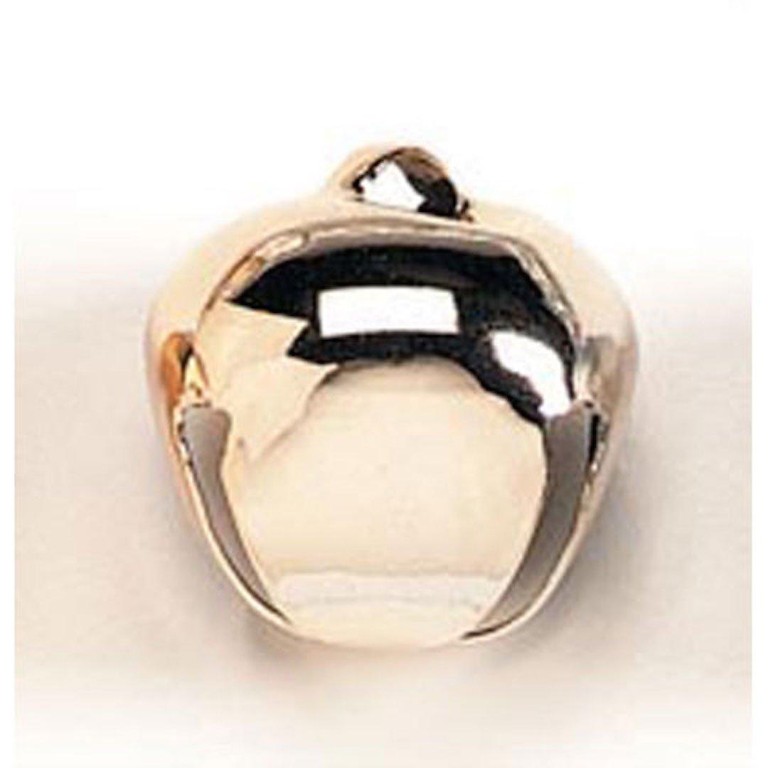 Bulk Buy: Darice DIY Crafts Jingle Bells Vacuum Gold 35mm 4 pieces (6-Pack) 1148-32