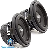 Two SA-10 D4 REV.3 - Sundown Audio 10 Dual 4-Ohm 750W RMS SA Series Subwoofers