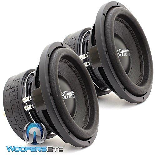 "Two SA-10 D4 REV.3 - Sundown Audio 10"" Dual 4-Ohm 750W RMS SA Series Subwoofers"