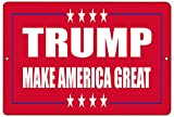 Rogue River Tactical Donald Trump Red Metal Tin Sign Wall Decor Man Cave Bar Make America Great