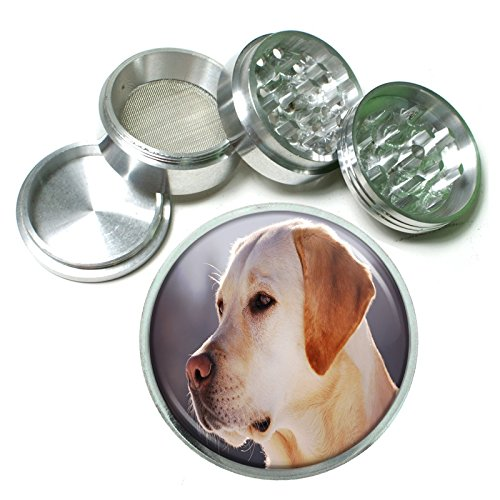 Labrador Retriever Loyal Pup 4 Pc. Aluminum Tobacco for sale  Delivered anywhere in USA