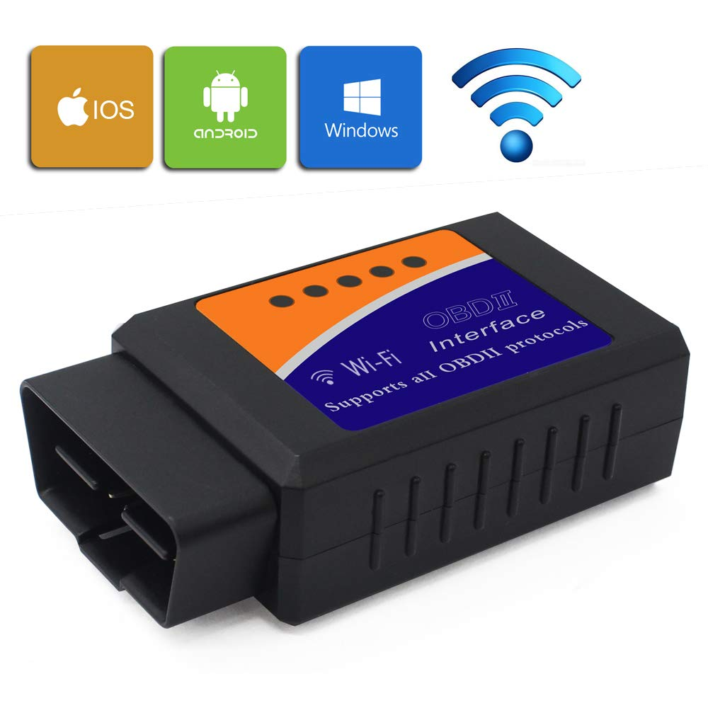NST OBD2 Diagnosewerkzeuge WiFi Elm327 Can Bus fü r IOS Apple iPhone Android Windows OBD-II Adapter Wireless die meisten Autos und Trucks