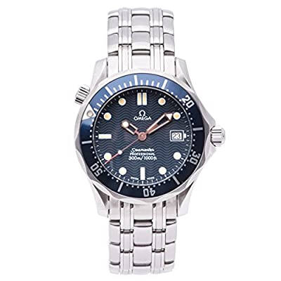 Omega Seamaster quartz mens Watch 2561.80.00 (Certified Pre-owned)