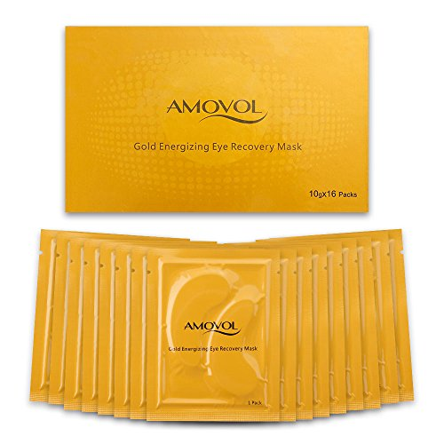 Collagen Eye Mask 24K Gold Reduce Dark C...