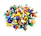 SONYX Pokemon Action Figures (Random 24 Piece) with Pokemon Bracelets (12 Count) and Party Balloons (5 Pack)