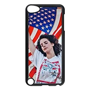 Customiz American Famous Singer Lana Del Rey Back Case for ipod Touch 5 JNIPOD5-1319
