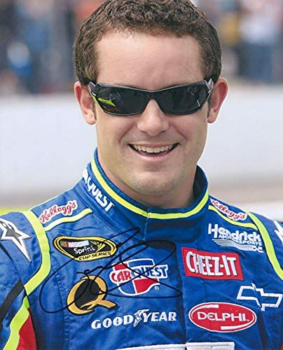 Casey Mears Autographed Photograph - 8X10 COA - Autographed for sale  Delivered anywhere in Canada