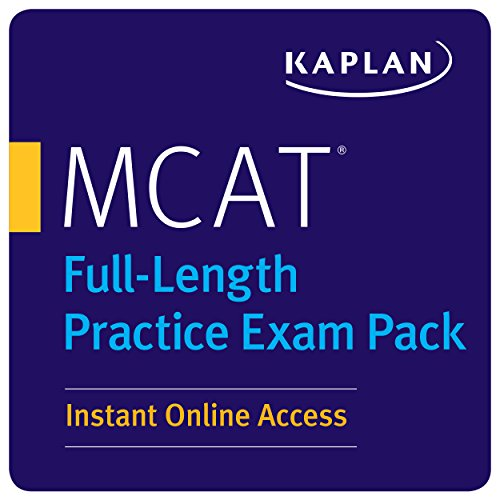 MCAT Full-Length Practice Exam Pack