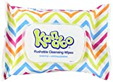 Kandoo Flushable Biodegradable Potty Training and Kids Cleansing Wet Wipes with Moisturizing Lotion Travel Soft Pack, Sensitive, 48 Count (Pack of 12)