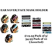 Ear Saver, Face Mask Holder comes in Assorted Colors - 10pcs/pack