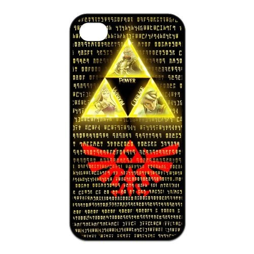 Fayruz- The Legend of Zelda Protective Hard TPU Rubber Cover Case for iPhone 4 / 4S Phone Cases A-i4K103