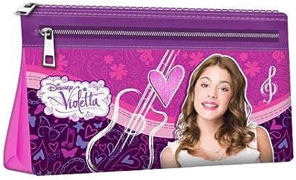 Portatodo Violetta Disney Guitar: Amazon.es: Oficina y papelería