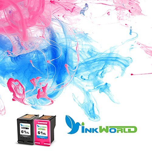 Inkworld Remanufactured Ink Cartridge Replacement for HP 61 HP 61XL Combo High Yield (1 Black, 1 Color) for HP Envy 4500 5530 5534 5535, HP Deskjet 1000 1010 1512 3050, HP Officejet 4630 2620 4632 Photo #8