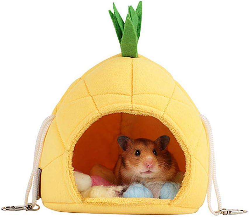Oncpcare - Juego de 2 Jaula para Hamaca, Hamaca, Ratas, hámster, Juguetes para Animales pequeños, Deslizador de azúcar, Ardilla, hámster, Rata, Descansar Dormido
