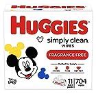 Huggies Simply Clean 无香型婴儿湿巾共704张