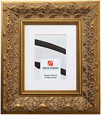 Craig Frames Borromini 11 X 17 Inch Gold And Bronze Picture Frame Matted To Display An 8 X 12 Inch Photo Amazon Co Uk Kitchen Home