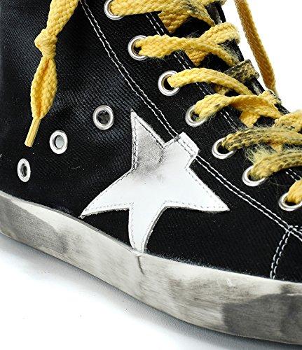 GOLDEN GOOSE Zapatillas Para Hombre Amarillo y Negro