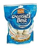 Hartz 01007 7 Oz 3'' Rawhide Bones Dentist's Best With DentaShield™