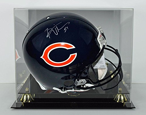 Bears Brian Urlacher Certified Signed Full Size Rep Helmet With Case - PSA/DNA (Rep Helmet)