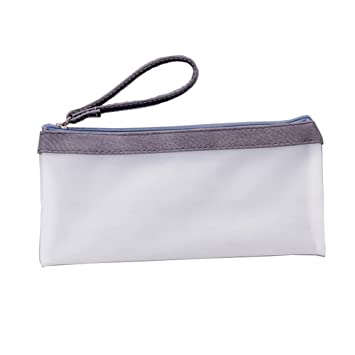 Federmäppchen Transparent Kosmetik Tasche Mäppchen Stiftetui Beutel  Bag