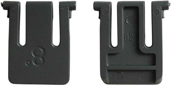 BAAQII Juego de 2 patas de soporte para teclado de repuesto ...
