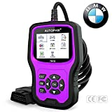 AUTOPHIX BMW Diagnostic Scanner Tool ,Enhanced BMW 7910 Multi-System OBD2 Scanner Auto Fault Code Reader with Battery Registration for All BMW After 1996(PURPLE)
